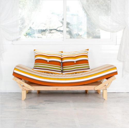 [나홀로족 인테리어 소품] 쇼파와 침대가 하나로 1인용 소파침대 ...