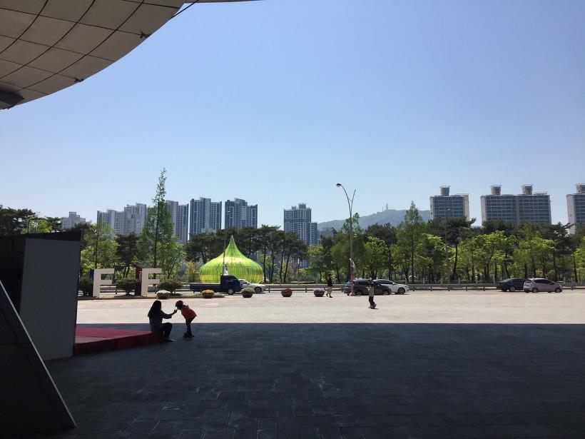 영화의 전당 - 부산 해운대, 센텀시티 인라인, 보드, 자전거 탈만한 곳
