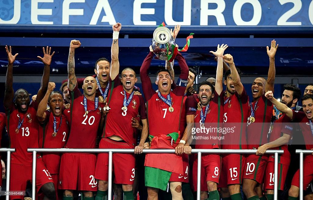 원맨팀, '원맨'이 빠진 뒤 '팀'이 되다...유로 2016 결승전, 프랑스-포르투갈