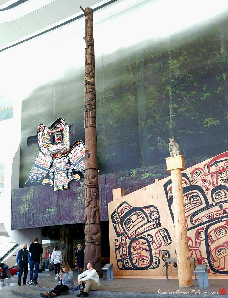 브리티시컬럼비아 주의 원주민 집입니다