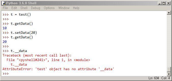 파이썬 get, set 메소드 함수 사용