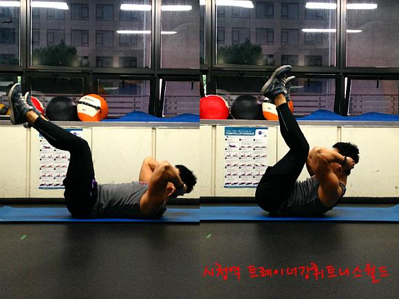 날씬한 허리를 위한 6가지 운동(복근 운동)