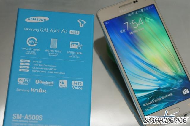 갤럭시 A5, 갤럭시 A5 특징, 보급형 스마트폰, 뷰티모드, 삼성, 삼성 스마트폰,