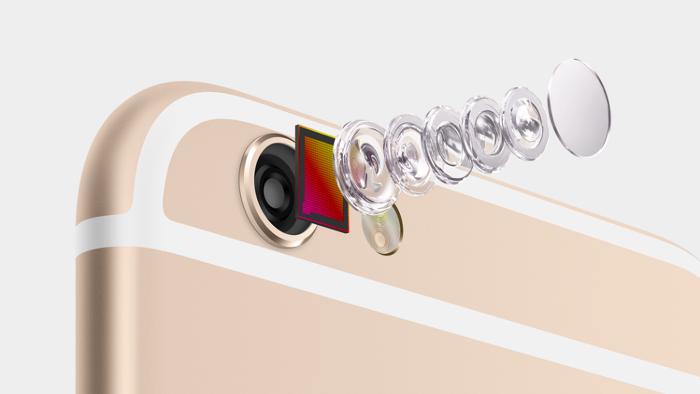 아이폰6 향상된 카메라 기능