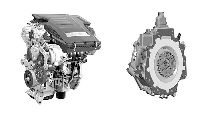 아이오닉 엔진과 모터