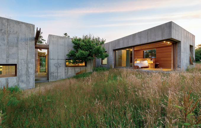 6개의 콘크리트 모듈로 만든 주택-[ Peter Rose + Partners ] East House