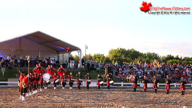 캐나다 왕립 군악대 입니다