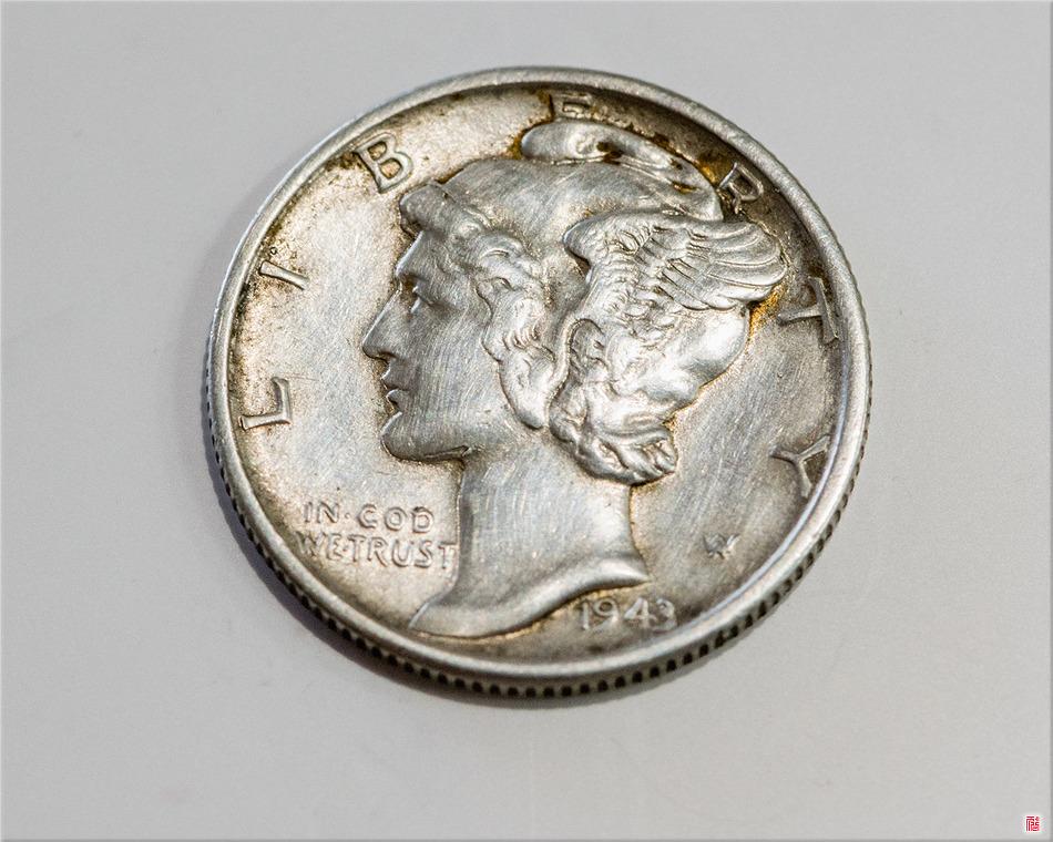 [Coin] One Dime_1944