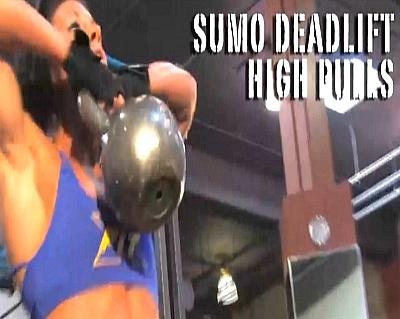 케틀벨 스모 데드리프트 하이풀(Kettlebell Sumo Deadlift High Pull)