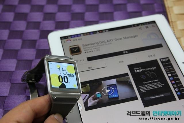 갤럭시노트 10.1 2014 전화기능 갤럭시기어 호환
