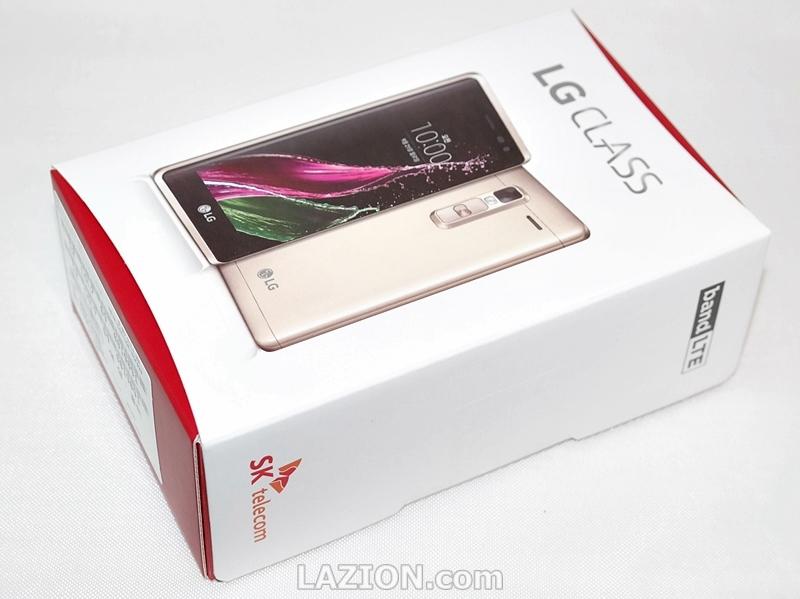 LG 클래스, 디자인과 카메라를 앞세운 중급형 스마트폰