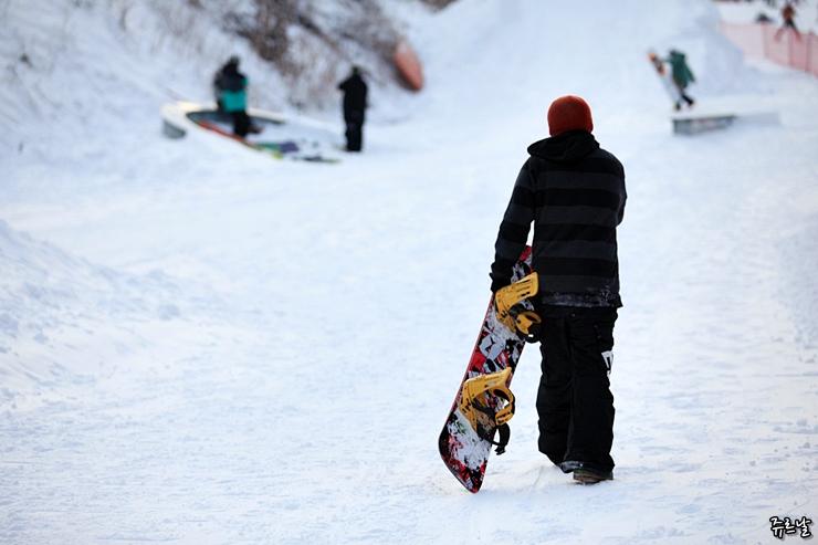 스키장 모델