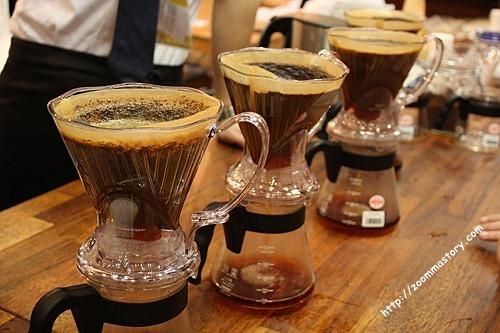 핸드드립, 커피, 바리스타, 만드는 법