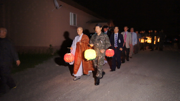 임실 탄약창 부처님 오신날 봉축 연등제 봉행
