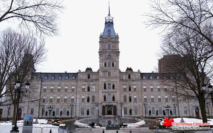 캐나다 퀘벡 주의사당