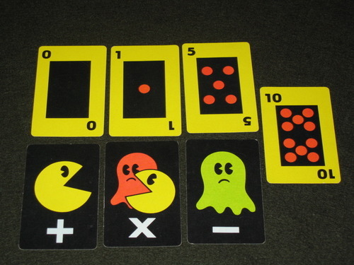 PAC-MAN Card Game