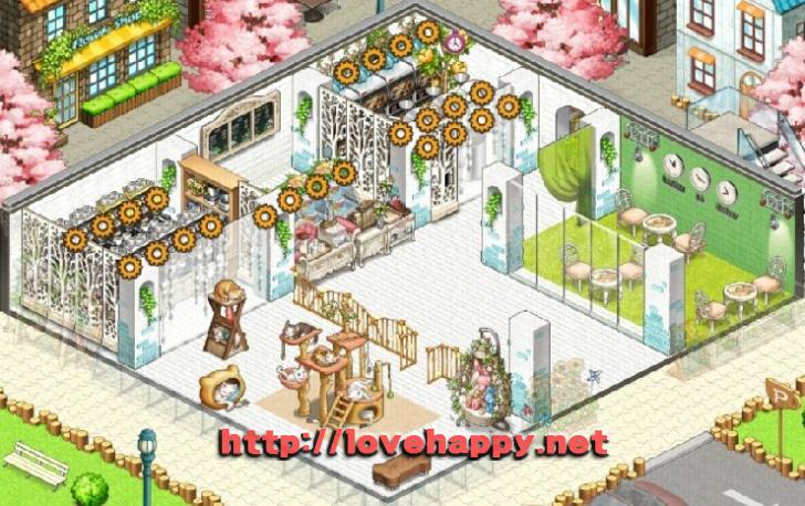 다양한 고양이 놀이기구가 있는 고양이 카페 아이러브 커피 인테리어 by sujun1942 001