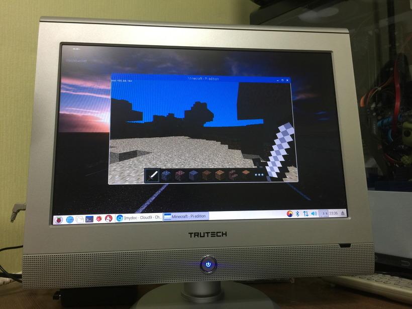 라즈베리파이3 라즈비안 마인크래프트 게임