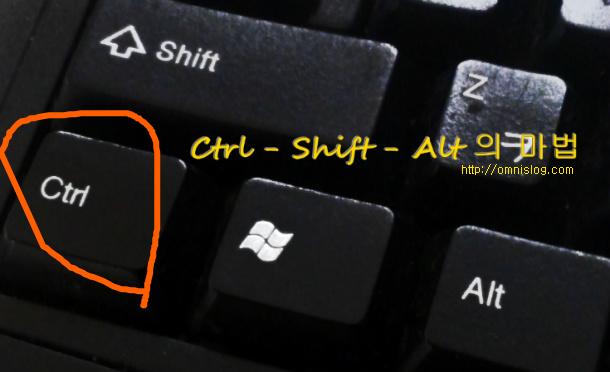 윈도우 사용 도우미 Ctrl Key의 마법