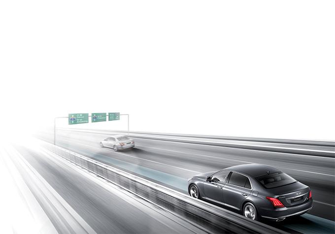 EQ900 고속도로 주행지원 시스템