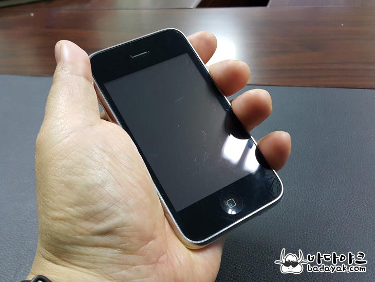 아이폰 시리즈 중 최고의 그립감은 아이폰3?