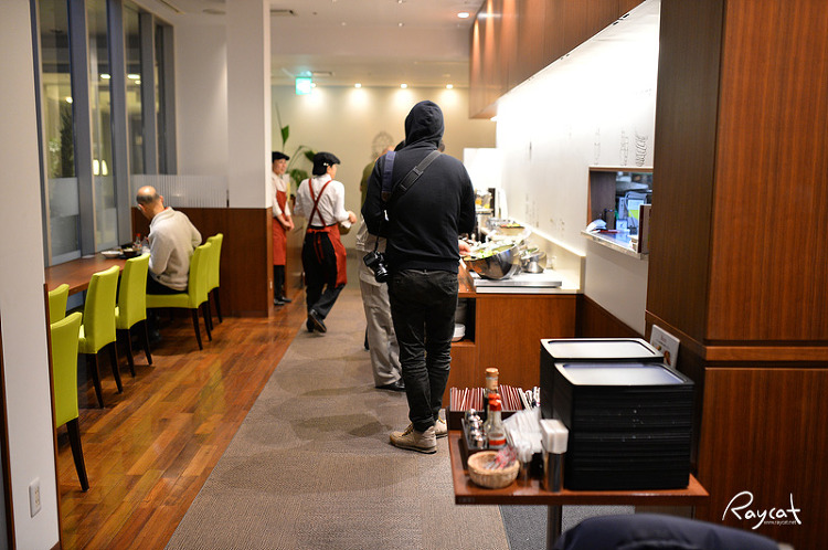 고치현 리치몬드 호텔 식당 내부