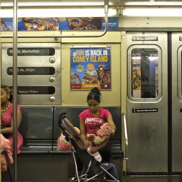 아이와 대중교통