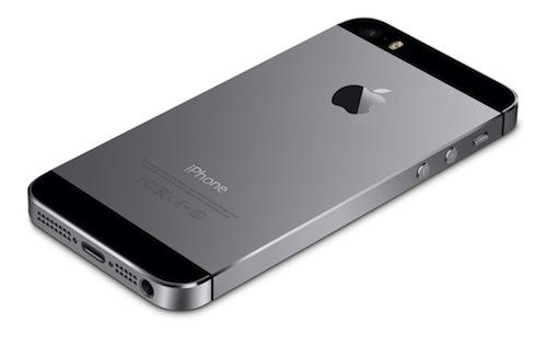 아이폰 5s의 블랙 space gray
