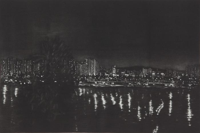 Night Landscape _ 김승연 판화전 _ 2014_0829 ▶ 0913