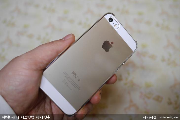 아이폰5s 투명 케이스 레즈락 B 시리즈 아이폰 클리어 케이스