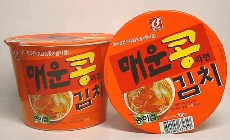 매운콩김치