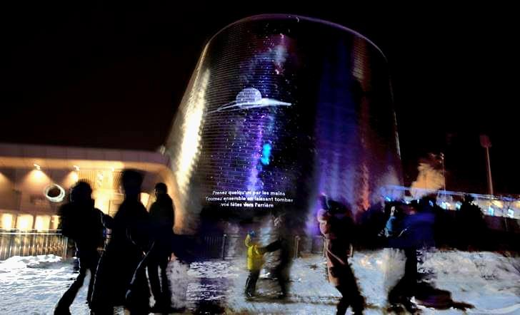 몬트리올 천문관 공공 시각 예술