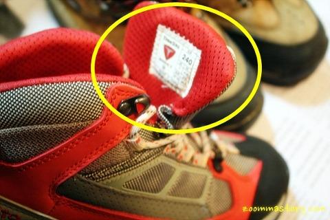사이즈, 신발