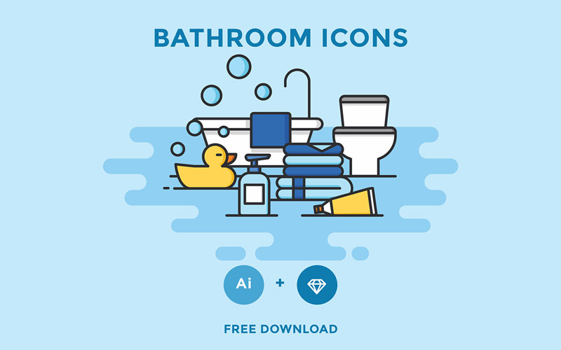 Free Bathroom Icons
