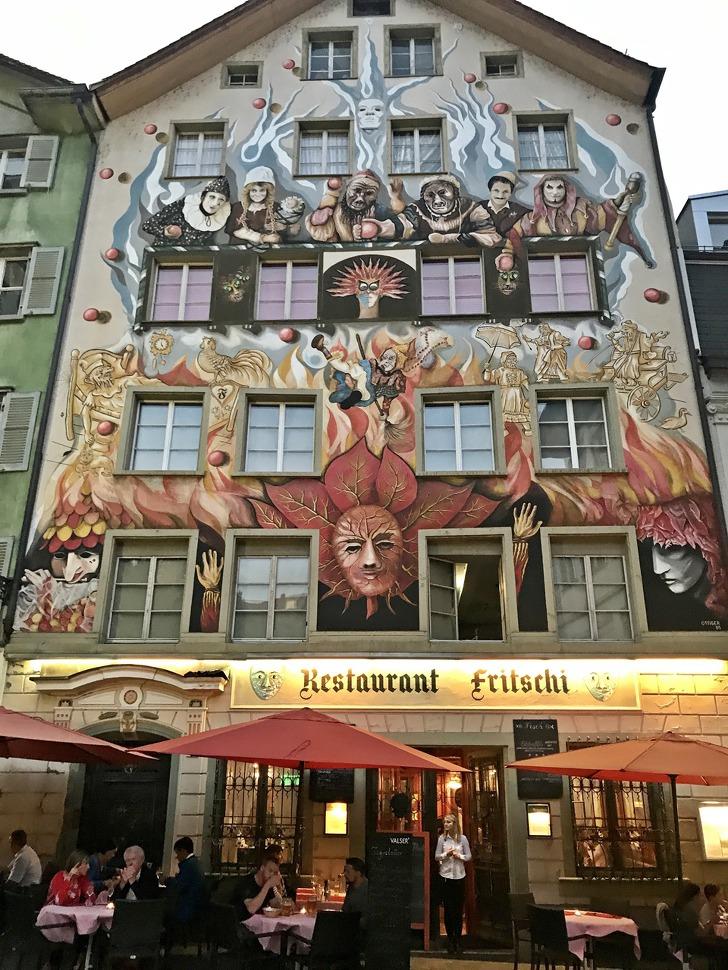 [루체른맛집] 스위스 전통요리 전문 레스토랑《Restaurant Fritschi》(평점 ★★★☆)