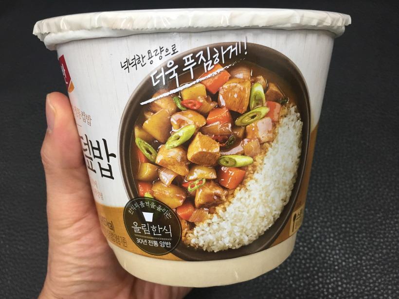 동원 양반 컵밥 찜닭 덮밥
