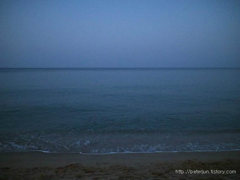 밤바다 파도소리