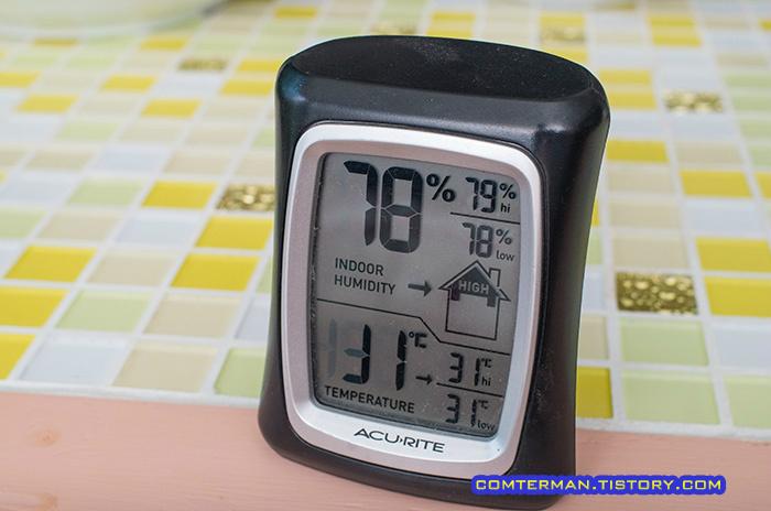 아큐라이트 온습도계 ACURITE Indoor Comfort Monitor