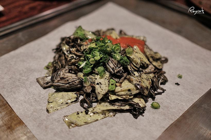 오사카 난바 오코노미야끼 일식과 이태리의 만남 텟판세가와