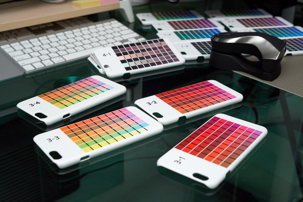 핸드폰 케이스 전사 잉크 프린터 프로파일 제작
