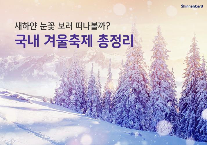 국내 겨울축제 총정리