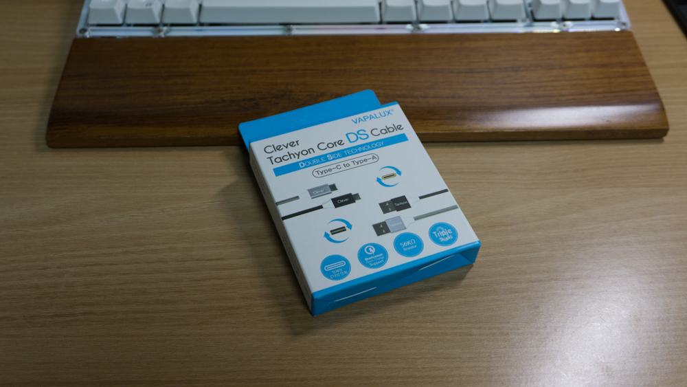 바이퍼럭스 클레버타키온 코어DS USB C타입 케이블 박스샷