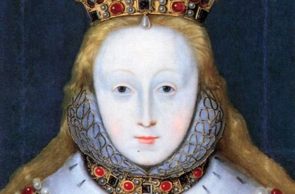 엘리자베스 여왕 납 화장 Queen Elizabeth-Lead makeup