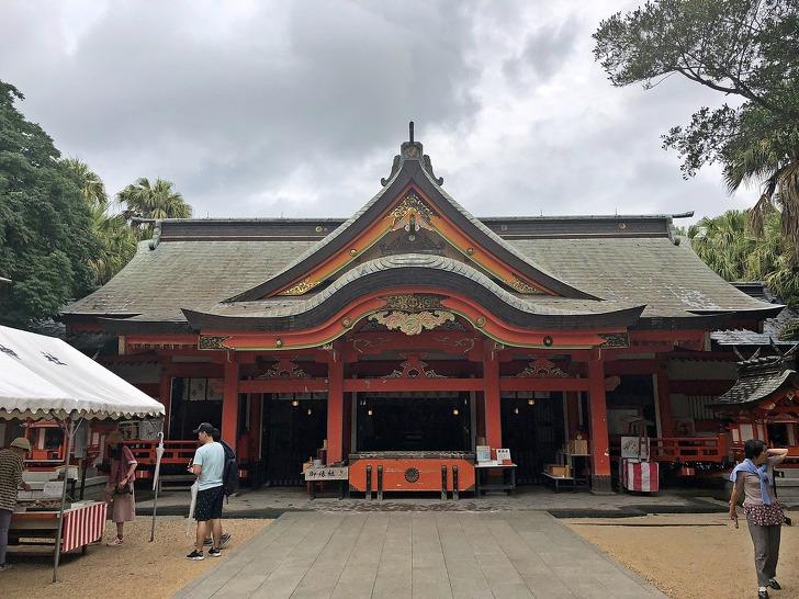 [미야자키여행] 인연을 맺어주는 신사로 알려져 있는《아오시마신사》