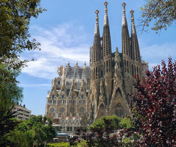 스페인 사그라다 파밀리아(Sagrada Familia)