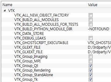 vtk 6.1.0 qt 4.8.6 윈도우7