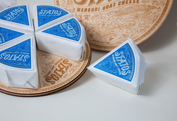 Staios Cheese Packaging, concept design