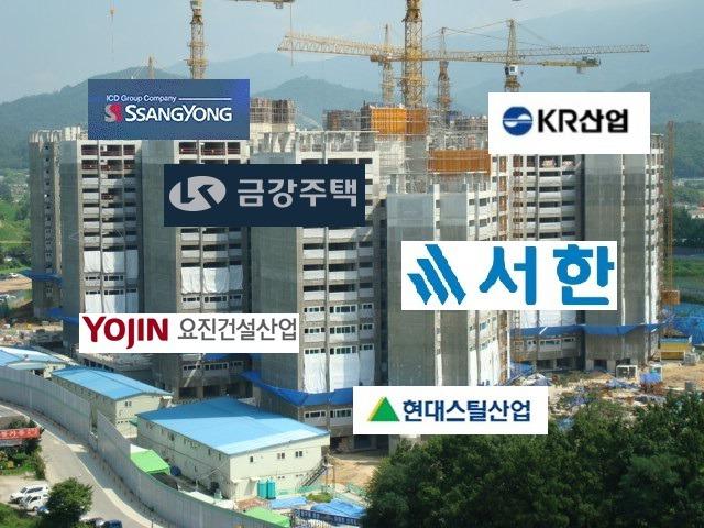 건설경기 최악인데?…쌍용건설·요진건설산업·서한·금강주택 채용