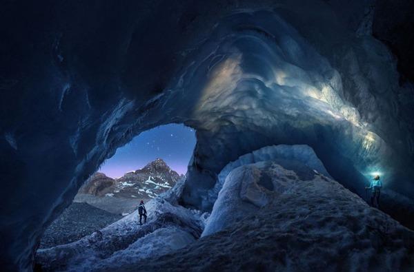 빙하 부문 장려상. 애서배스카 동굴(Juan Pablo De Miguel)