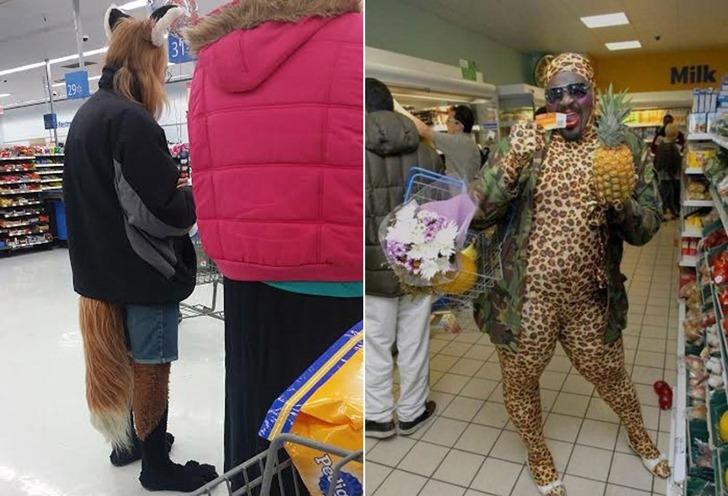 미국 마트에 가면 만날 수도 있는 특이하고 이상한 사람들